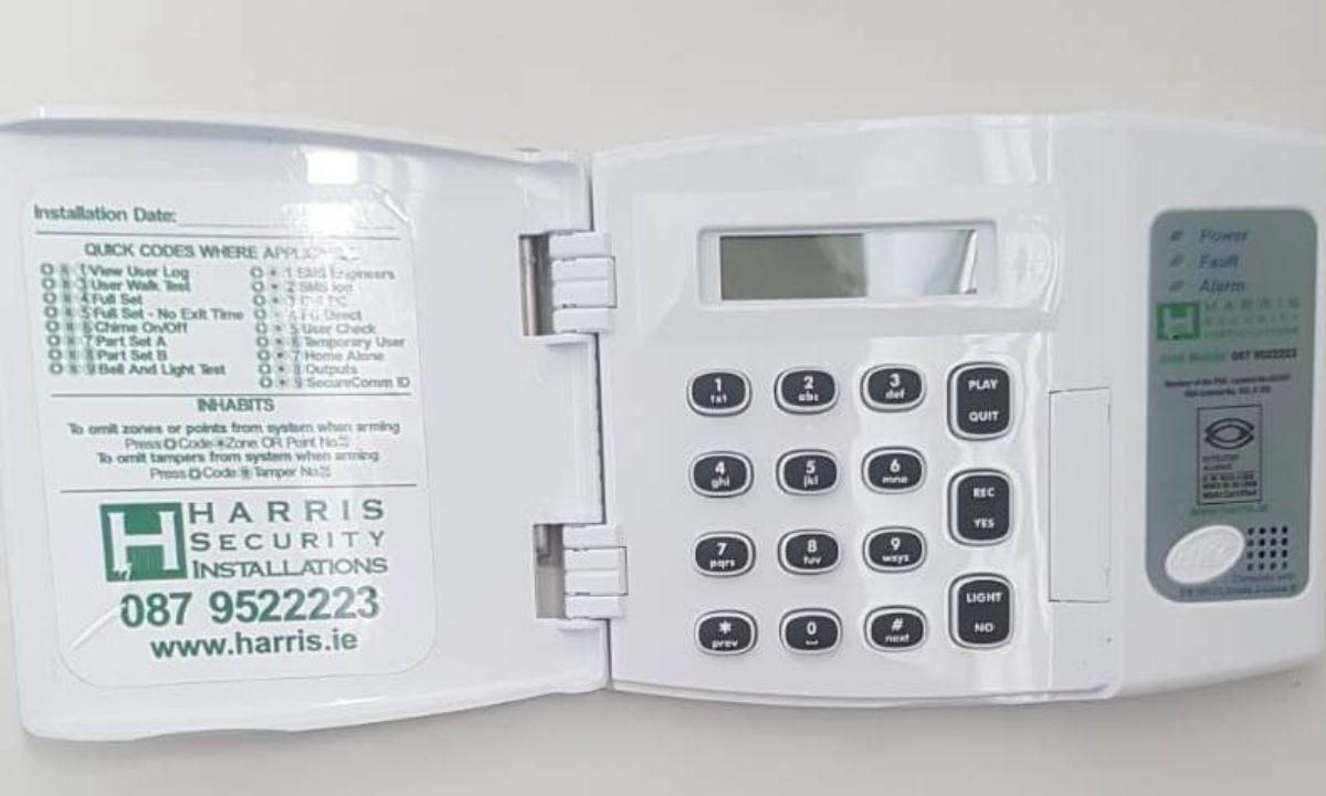 HKC Intruder alarm Keypad