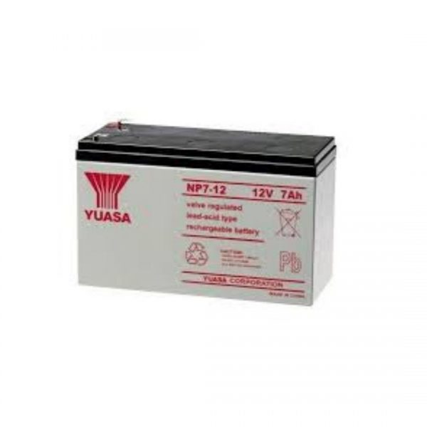 Intruder alarm 7amp Battery